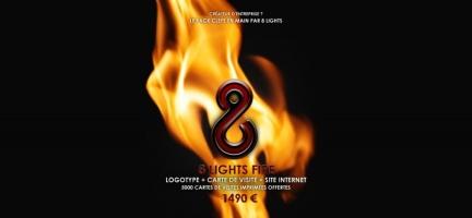 8 LIGHTS FIRE