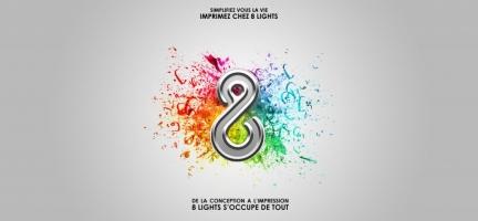 8 LIGHTS PRINT